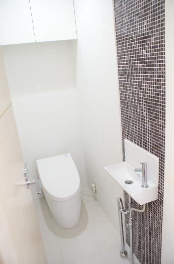 SA邸の部屋 トイレ