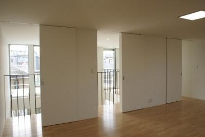 3階の子供室 (SA邸)