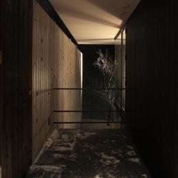 軽井沢の別荘(A邸) (エントランス)