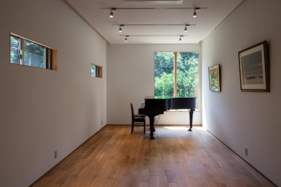 音楽室のある家 (音楽室)
