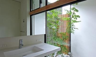洗面|石巻の家