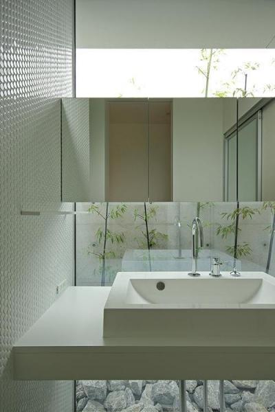 洗面 (平尾の家)