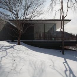 軽井沢の別荘(A邸)-外観