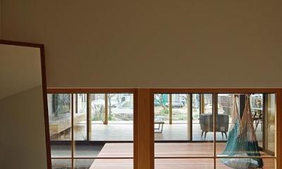 八幡の家 (玄関)