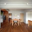 NENGOの住宅事例「色彩と陰影のリノベーション」