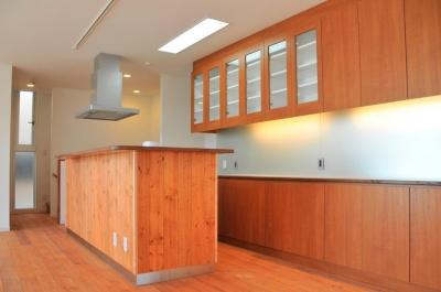 傾斜地の家2 (キッチン)