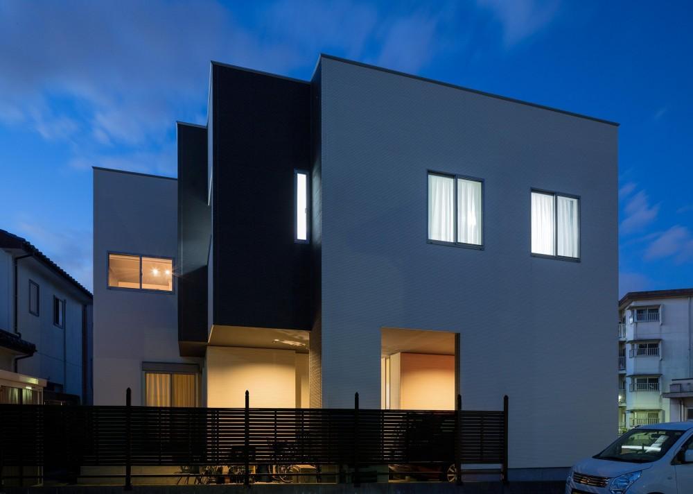N10-house「グリッドの家」 (外観)