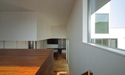 N8-house「Ⅲ-BOXの家」 (書斎)