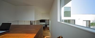 書斎 (N8-house「Ⅲ-BOXの家」)
