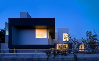 N8-house「Ⅲ-BOXの家」 (外観)