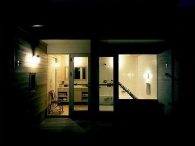 甲南山手の家 (浴室)