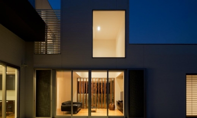 N8-house「Ⅲ-BOXの家」 (テラス)