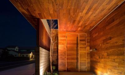 N8-house「Ⅲ-BOXの家」 (玄関)