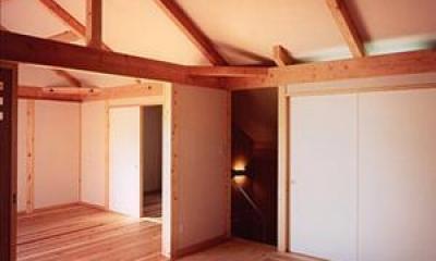 木津の家 (寝室)