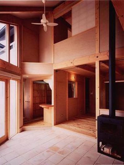 木津の家 (リビング)