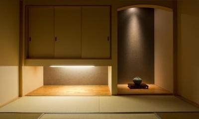 N8-house「Ⅲ-BOXの家」 (和室)