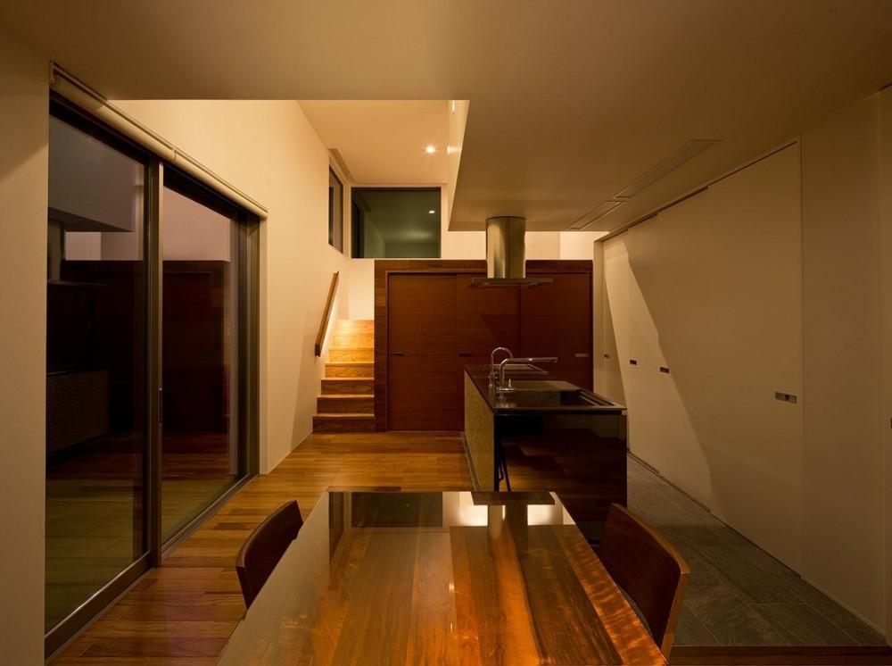 N8-house「Ⅲ-BOXの家」 (リビング)