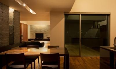 N8-house「Ⅲ-BOXの家」 (リビングダイニング)