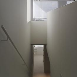 西中延の集合住宅 est (階段)