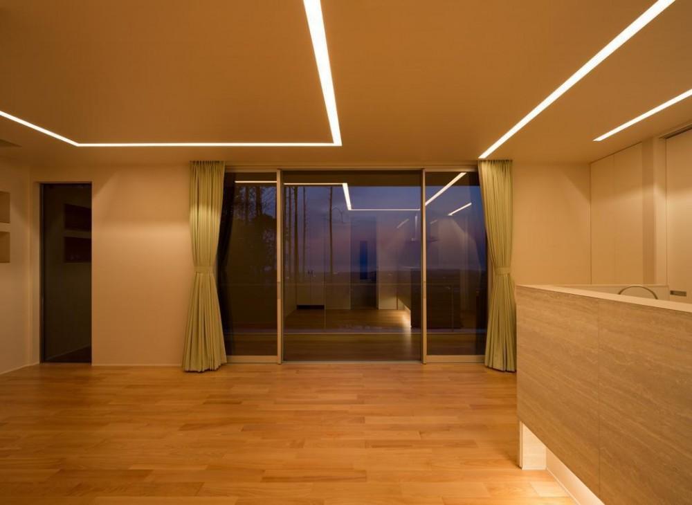Y7-house「海の見えるセカンドハウス」 (リビング)