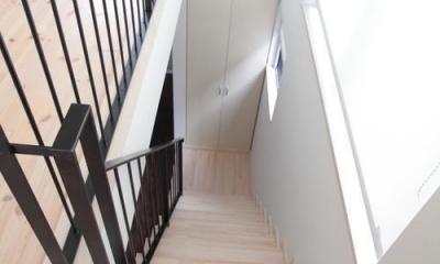 11坪の居心地HOME (階段)
