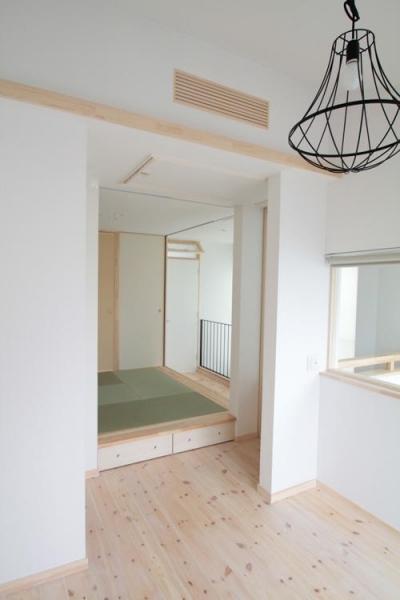 寝室 (11坪の居心地HOME)