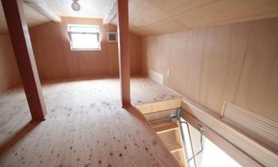 小屋裏収納|11坪の居心地HOME