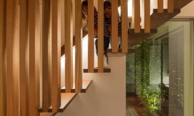 A2-house「shell house」 (階段)