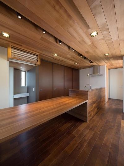 キッチン (M4-house「重なり合う家」)