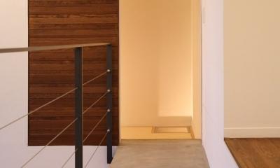 軽井沢の別荘(D邸) (廊下)