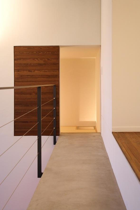 D別荘の部屋 廊下