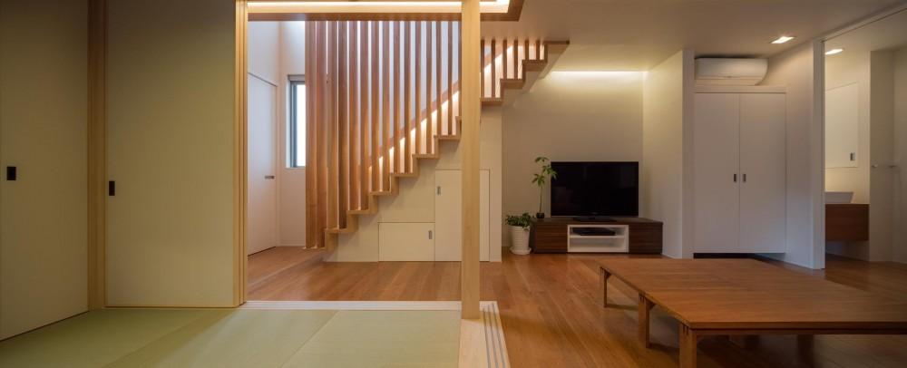 D-house「多角形の家」 (和室)