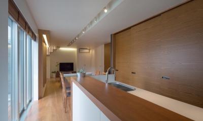 D-house「多角形の家」 (キッチン)