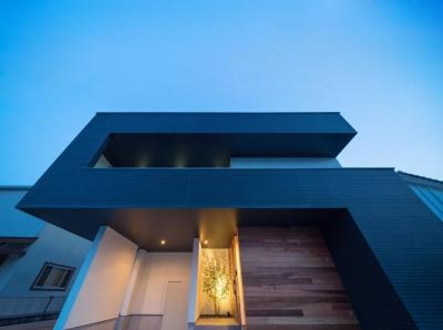 外観 (D-house「多角形の家」)
