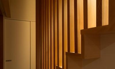 D-house「多角形の家」 (階段)
