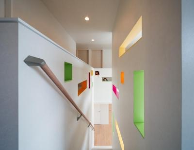 階段 (H-house「走り回る家」)