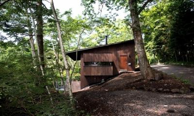 軽井沢の別荘(D邸)