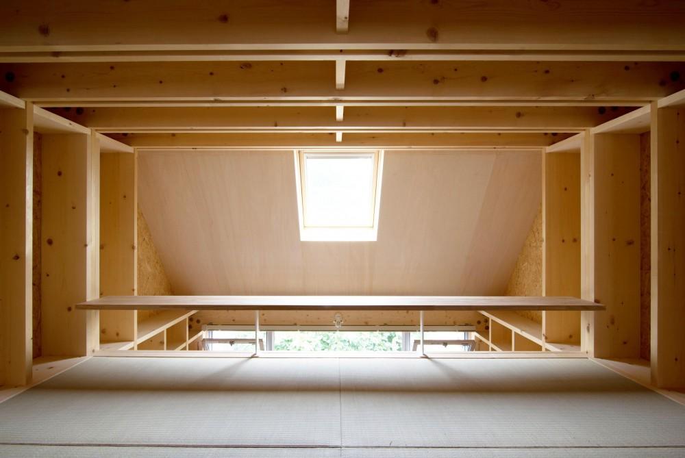 71/100 木箱・久我山 (ロフトとキッチン上部の天窓)