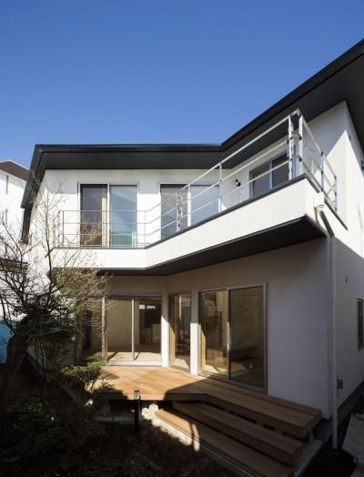 大岡山の家 (南外観)