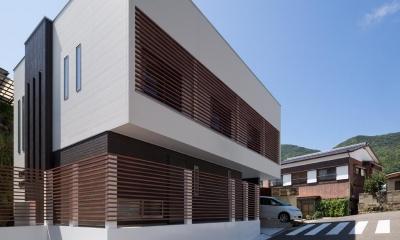 Y2-house・Y3-house 「縦と横の家」 (外観)