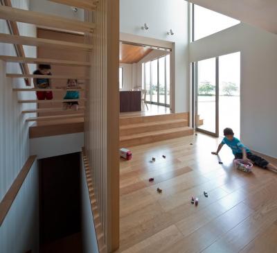 K5-house「スローライフの家」 (リビングダイニング)