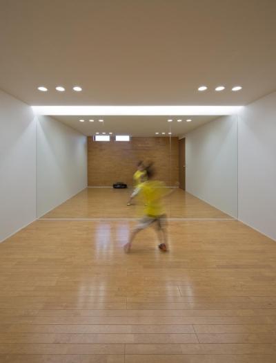 地下ーダンスホール (K5-house「スローライフの家」)