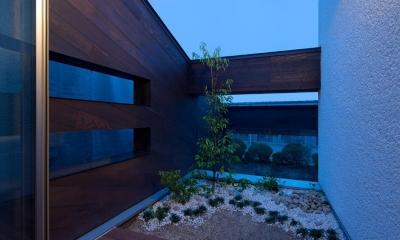 U3-house「回廊の家」 (中庭)