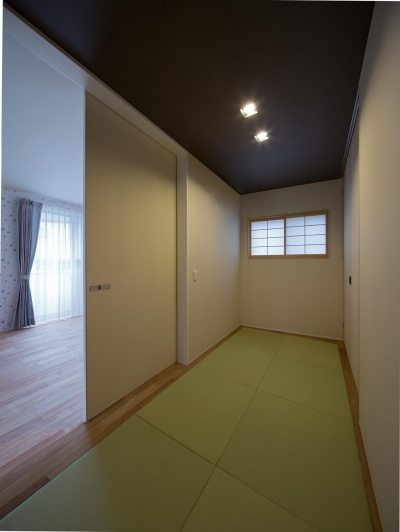 和室 (U3-house「回廊の家」)