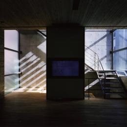 AKS 赤坂のゲストハウス (階段)
