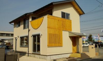 パッシブソーラー(そよ風)の小さな木の家