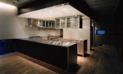 赤坂のゲストハウス AKS (キッチン)