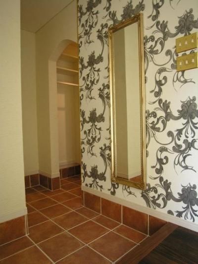 玄関ホール (パリ、アパルトマンスタイルの家)