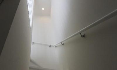 浅間台の家 (階段)
