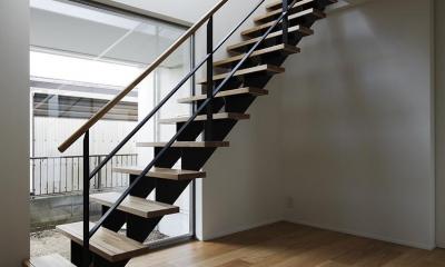 桜台の家 (階段)